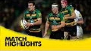 video rugby Northampton Saints v Exeter Chiefs - Aviva Premiership Rugby 2014/15