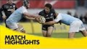 video rugby Saracens v Newcastle Falcons - Aviva Premiership Rugby 2014/15