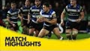 video rugby Gloucester v Bath Rugby  - Aviva Premiership Rugby 2014/15