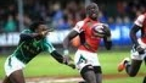 video rugby Glasgow Sevens: Day one highlights