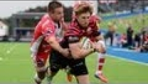 video rugby Saracens vs Gloucester - Aviva Premiership Rugby 13/14