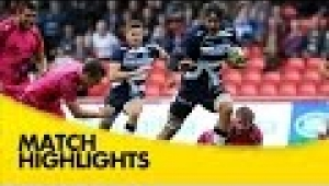 video rugby Sale Sharks v London Welsh - Aviva Premiership Rugby 2014/15