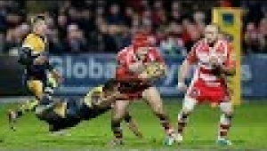 video rugby Gloucester Rugby vs Worcester Warriors - Aviva Premiership Rugby 2013/14