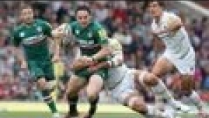 video rugby Leicester Tigers vs Worcester Warriors - Aviva Premiership Rugby 13/14