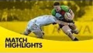 video rugby Harlequins vs Newcastle Falcons - Aviva Premiership Rugby 2013/14