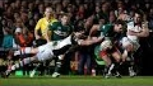 video rugby Leicester Tigers vs Harlequins - Aviva Premiership Rugby 2013/14