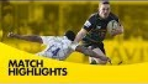 video rugby Northampton Saints vs Leicester Tigers - Aviva Premiership Rugby 2013/14