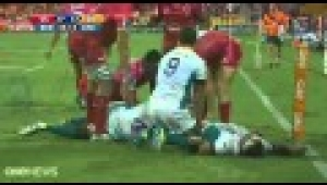 video rugby Reds v Cheetahs highlights