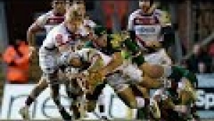 video rugby Leicester Tigers vs Sale Sharks - Aviva Premiership Rugby 2013/14