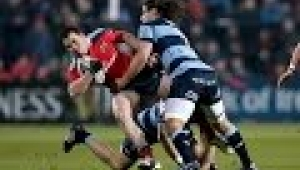 video rugby Munster v Cardiff Blues Highlights  GUINNESS PRO12 2014/15