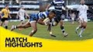 video rugby Bath Rugby v Exeter Chiefs - Aviva Premiership Rugby 2014/15