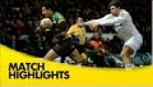 video rugby Northampton Saints v London Irish - Aviva Premiership Rugby 2014/15