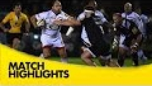video rugby Newcastle Falcons v Wasps - Aviva Premiership Rugby 2014/15