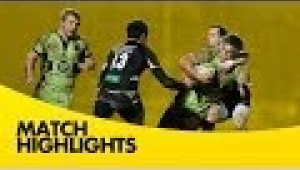 video rugby Exeter Chiefs vs Northampton Saints - Aviva Premiership Rugby 2013/14